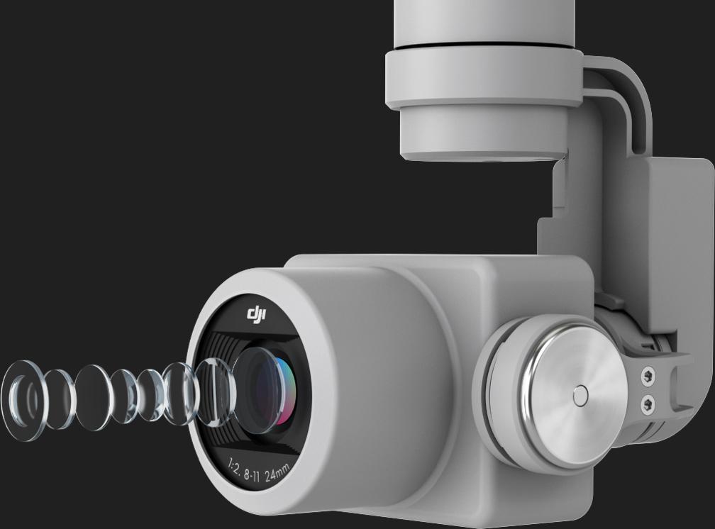 DJI Phantom 4 Pro High Resolution Lens