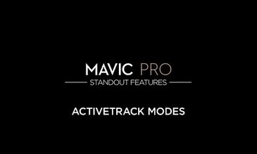 DJI – Mavic Pro Standout Features: ActiveTrack Modes