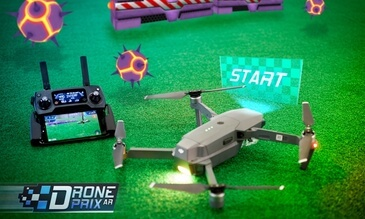 Augmented reality and drones? Sounds like a good time