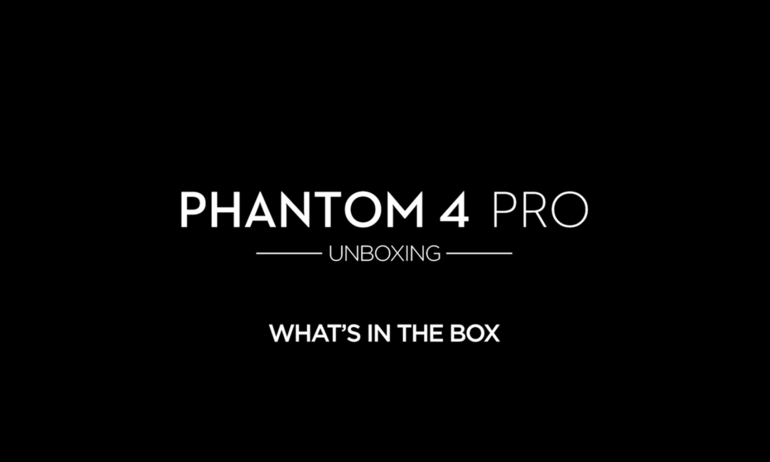 DJI – Phantom 4 Pro – Unboxing – Inside the Box
