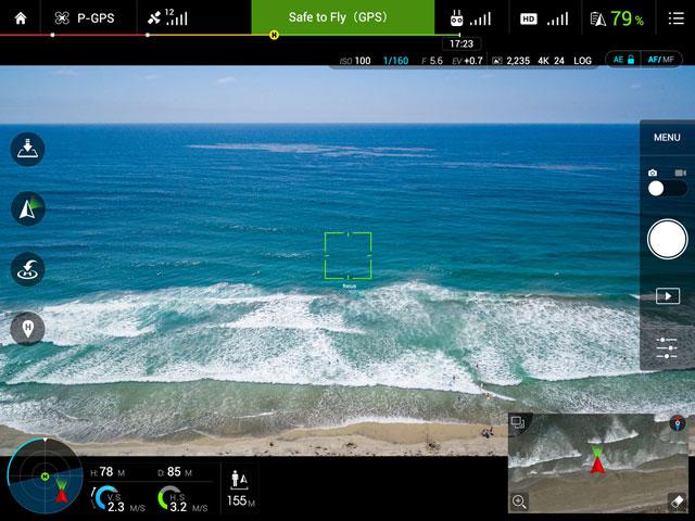 DJI Inspire 1 V2.0 Go App