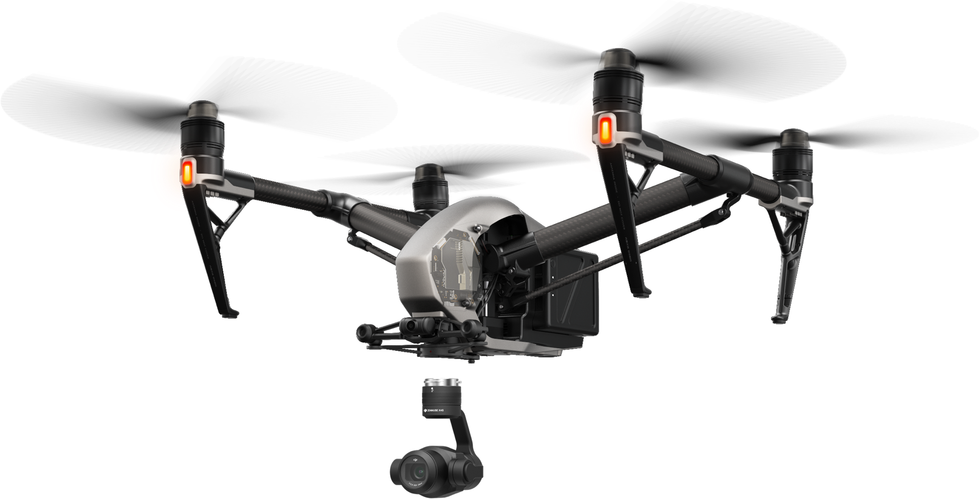 The Inspire 2 Flying Camera
