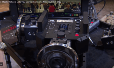 DJI Master Wheels Lets You Control Your Ronin In a New (but old) Way