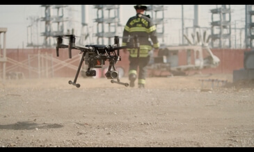 DJI And Menlo Park Fire Protection District Partner To Expand The Use Of Drone Technology For Public Safety