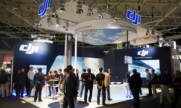 DJI at IBC in Amsterdam