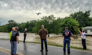 DJI Drones Save the Day During Texas Flood Rescue