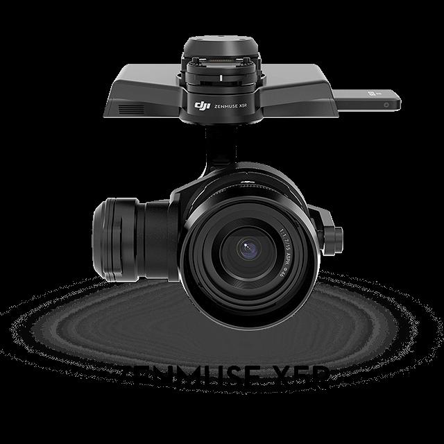 Zenmuse X Series Cameras Comparison - DJI
