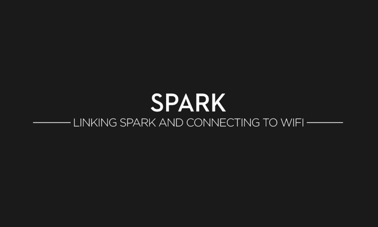 DJI – Spark Tutorials – Linking Spark and Connecting to WiFi