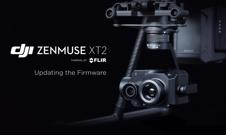 DJI Zenmuse XT2 – Updating the Firmware