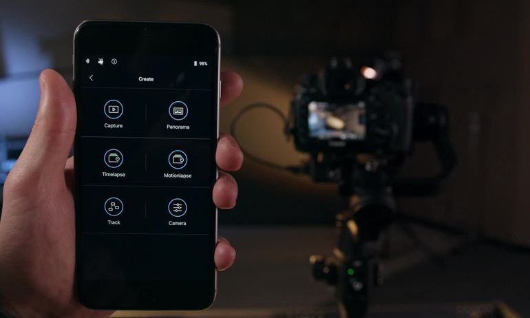 DJI Tutorials - Ronin-S - App: Creative Functions