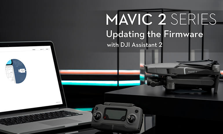 Mavic 2 Series Tutorial - Updating the Firmware with Assistant 2