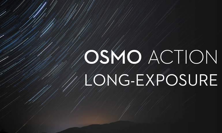 DJI - Osmo Action - How to Capture Long Exposure Images with Osmo Action