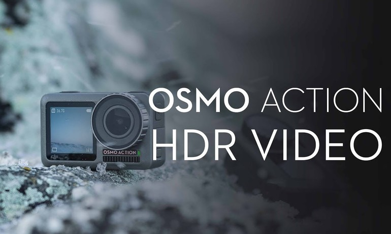 DJI - Osmo Action - How to Shoot HDR Videos with Osmo Action